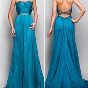 Formal gown- Princes A line Silhouette